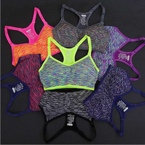 High Impact Shock Absorbing Sports Bra