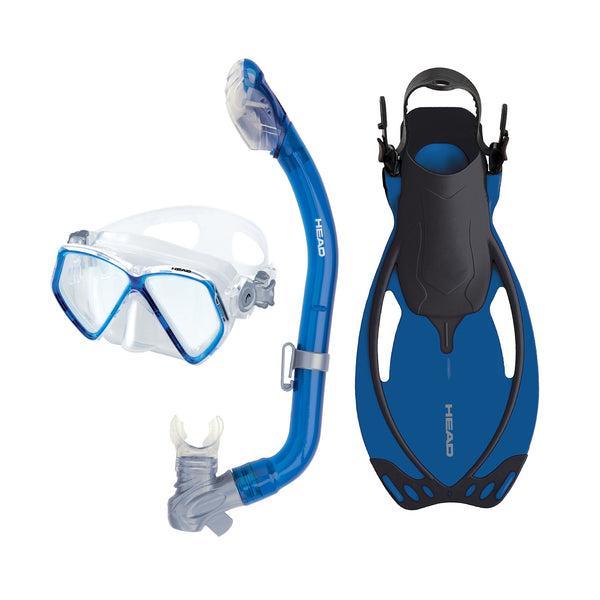 Mares Pirate/Pirate Dry/Allegra Fin Junior Snorkeling Set