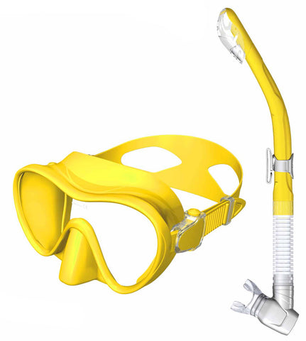 Mares Calypso Dry Adult Combo Mask and Snorkel