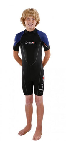 Henderson Thermoprene Junior's 3mm Backzip Shorty Wetsuit