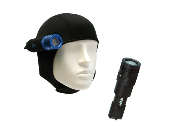 Big Blue Dive Lights CF450 Single-Light Hood Combo Pack