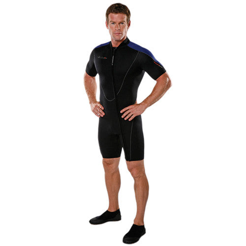 Henderson Thermoprene Men's 3mm Short Sleeve Front Zip Shorty