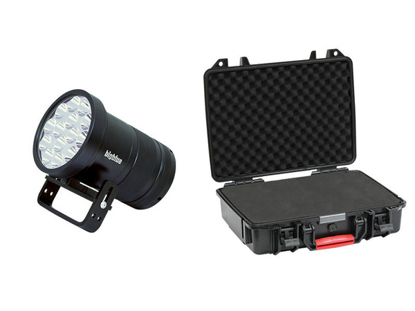Big Blue Dive Lights TL18000P With Protective Case