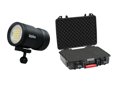 Bigblue Dive Lights VL15000P Pro Mini with Protective Case