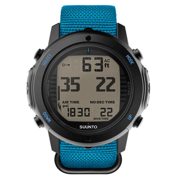 Suunto D6i Novo Instructor Blue Zulu Dive Computer