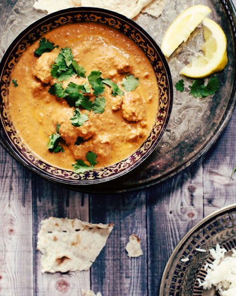 Butter Chicken and Yam Curry