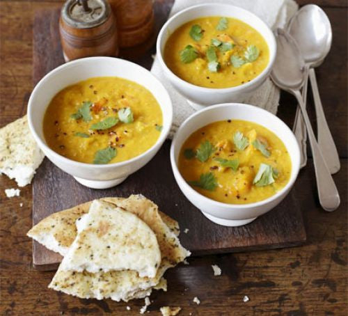 Butternut Squash & Curried Coconut Soup