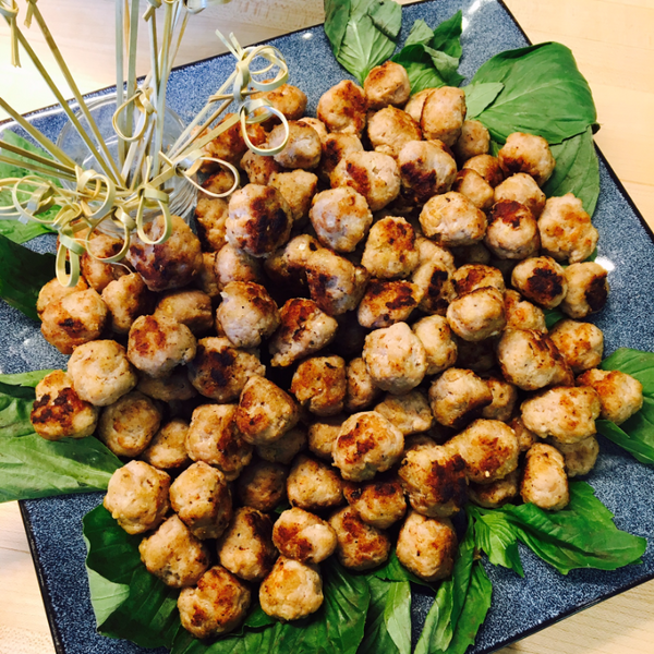 Aromatic Thai Pork Balls