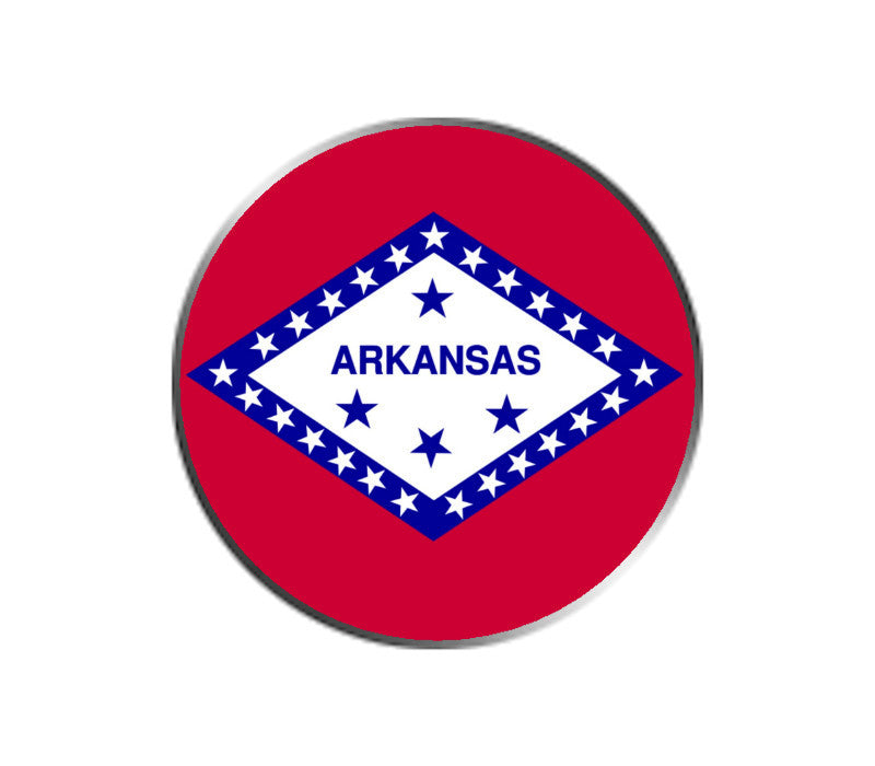 Arkansas Ball Marker - State Flag