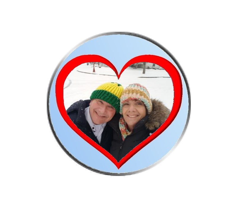 Heart Photo - Ball Marker