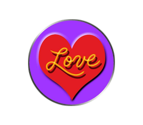 Love Ball Marker - Red