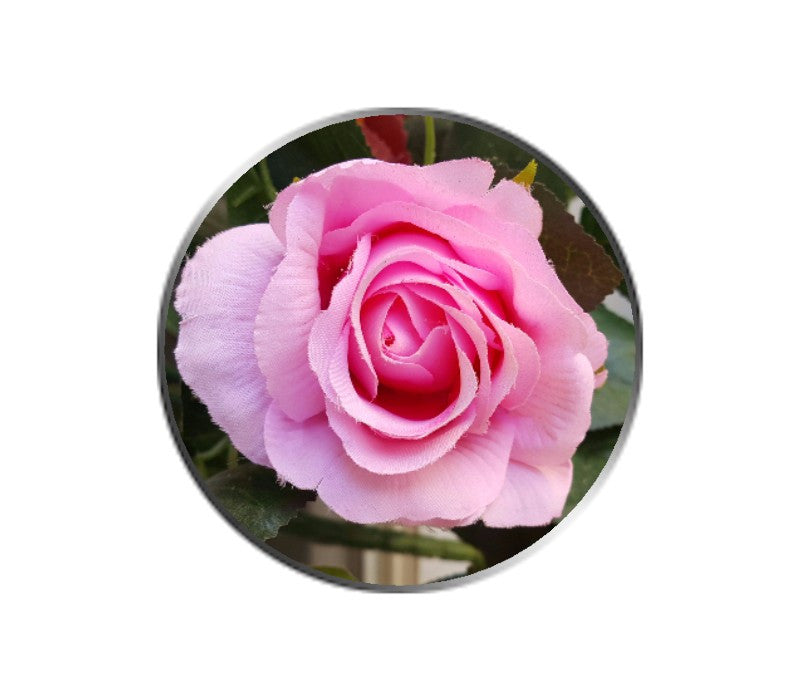 Pink Rose Flower Ball Marker
