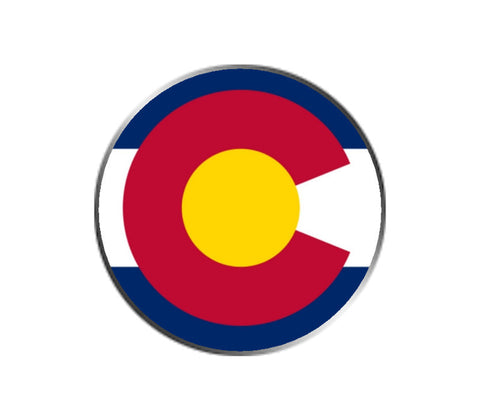 Colorado Ball Marker - State Flag