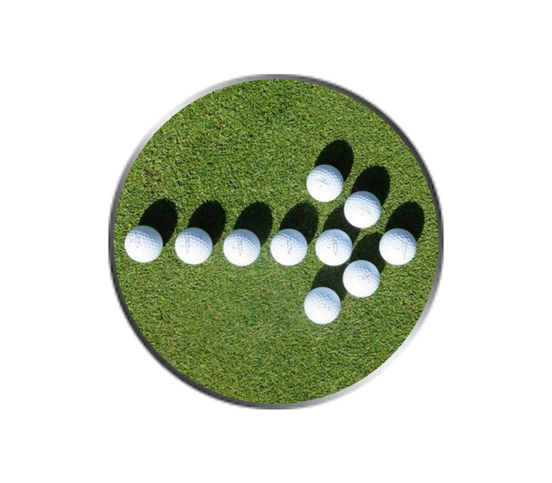 Golf Ball Arrow Ball Marker