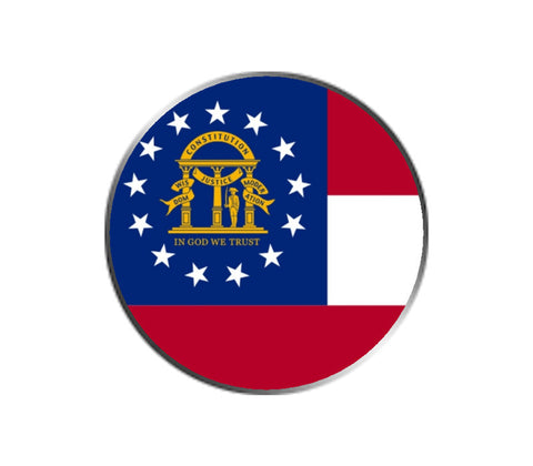 Georgia Ball Marker - State Flag