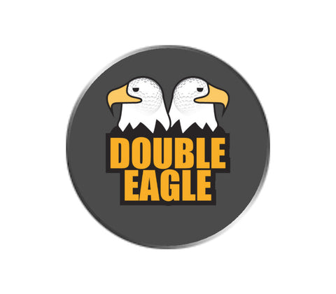 Double Eagle Golf Emoji Ball Marker