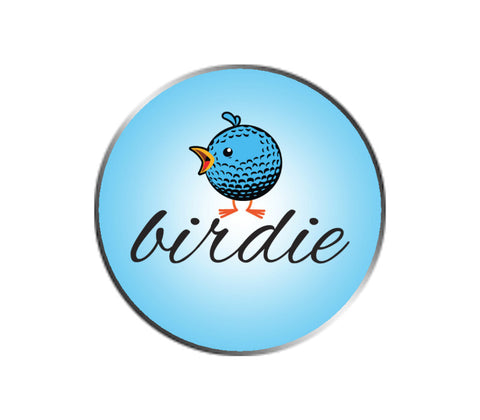 Birdie Golf Emoji Ball Marker