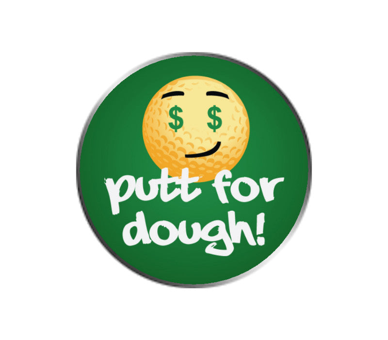 Putt For Dough Golf Emoji Ball Marker