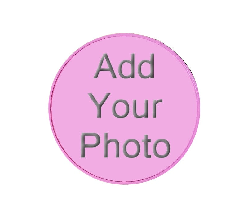 Pink 3D Printed - Jumbo Photo Ball Marker