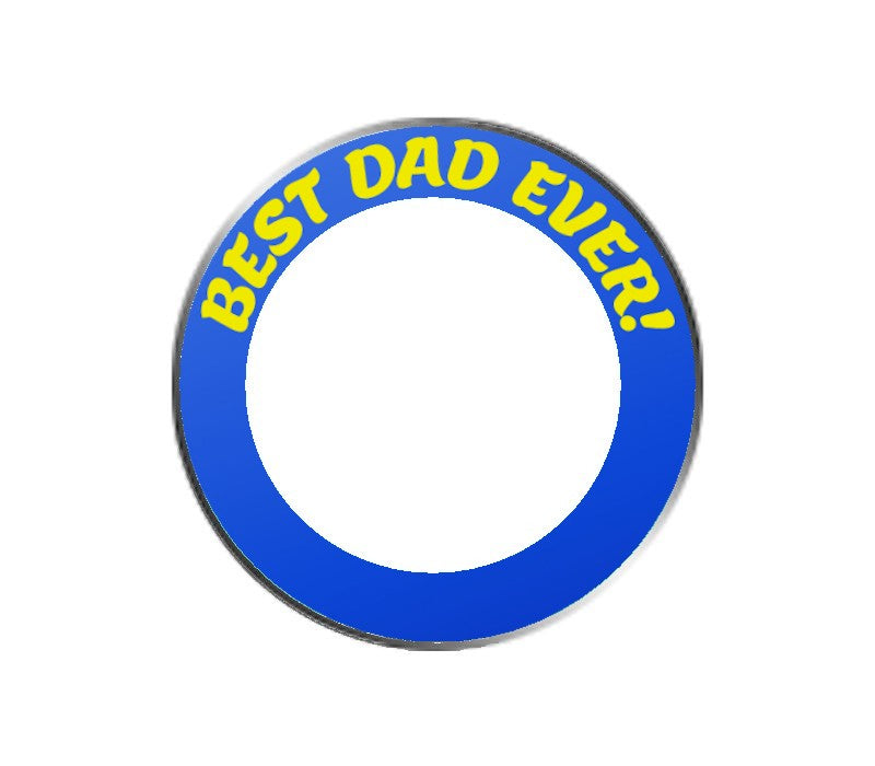 Best Dad Ever - PhotoBallMarker Golf Ball Marker