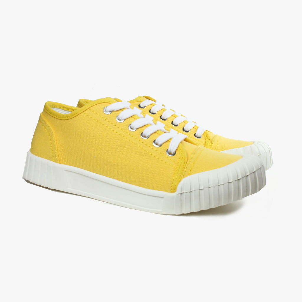 Good News London Sneakers - Bagger Yellow Low