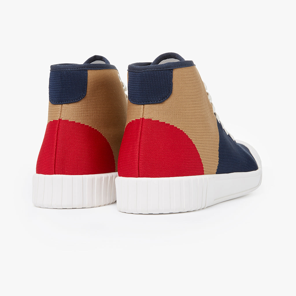 Good News London Sneakers - Gamer Hi Tri Colour