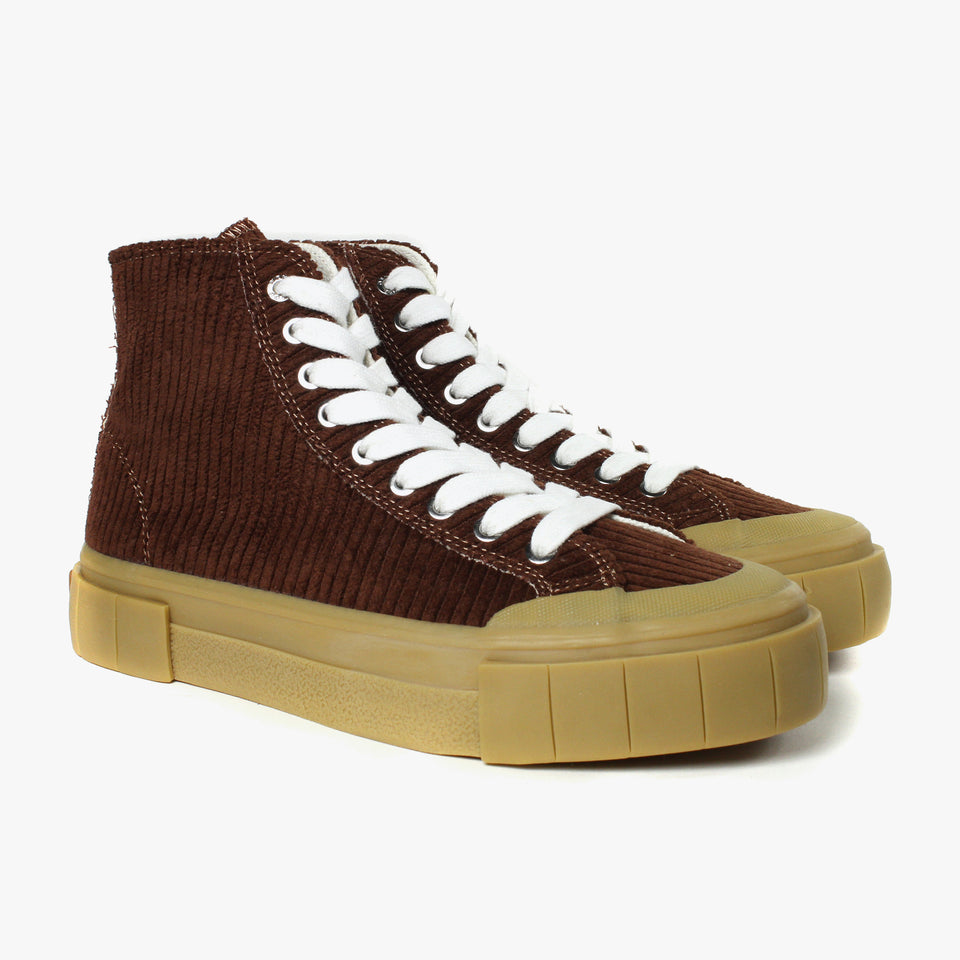 Palm Corduroy Brown High