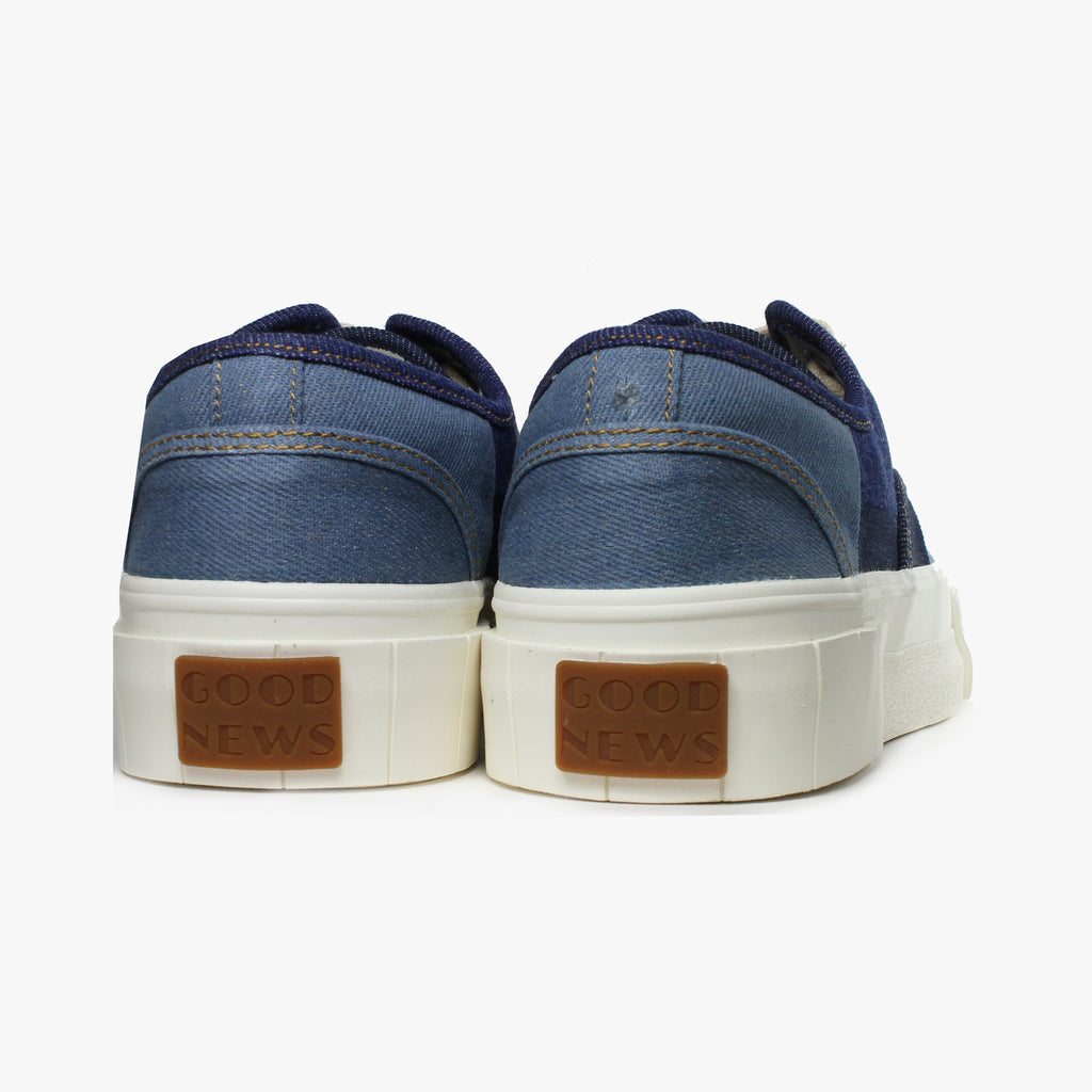 Good News London Sneakers - Slider Denim Low