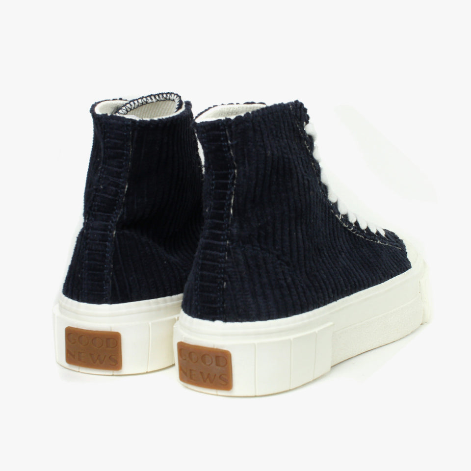 Palm Corduroy Navy High