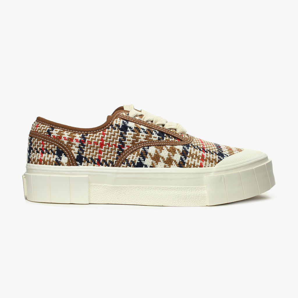 Good News London Sneakers - Ace Brown Check Low