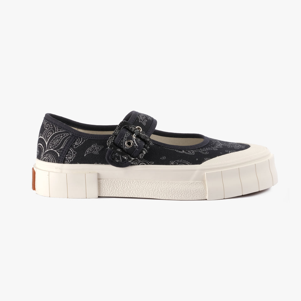 Celeste Paisley Black Low