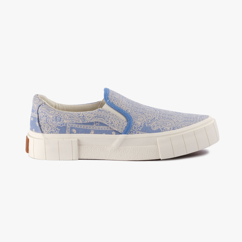 Yess Paisley Blue Low