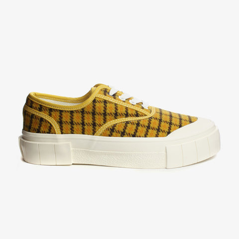 Good News London Sneakers - Softball 2 Mustard Check Low