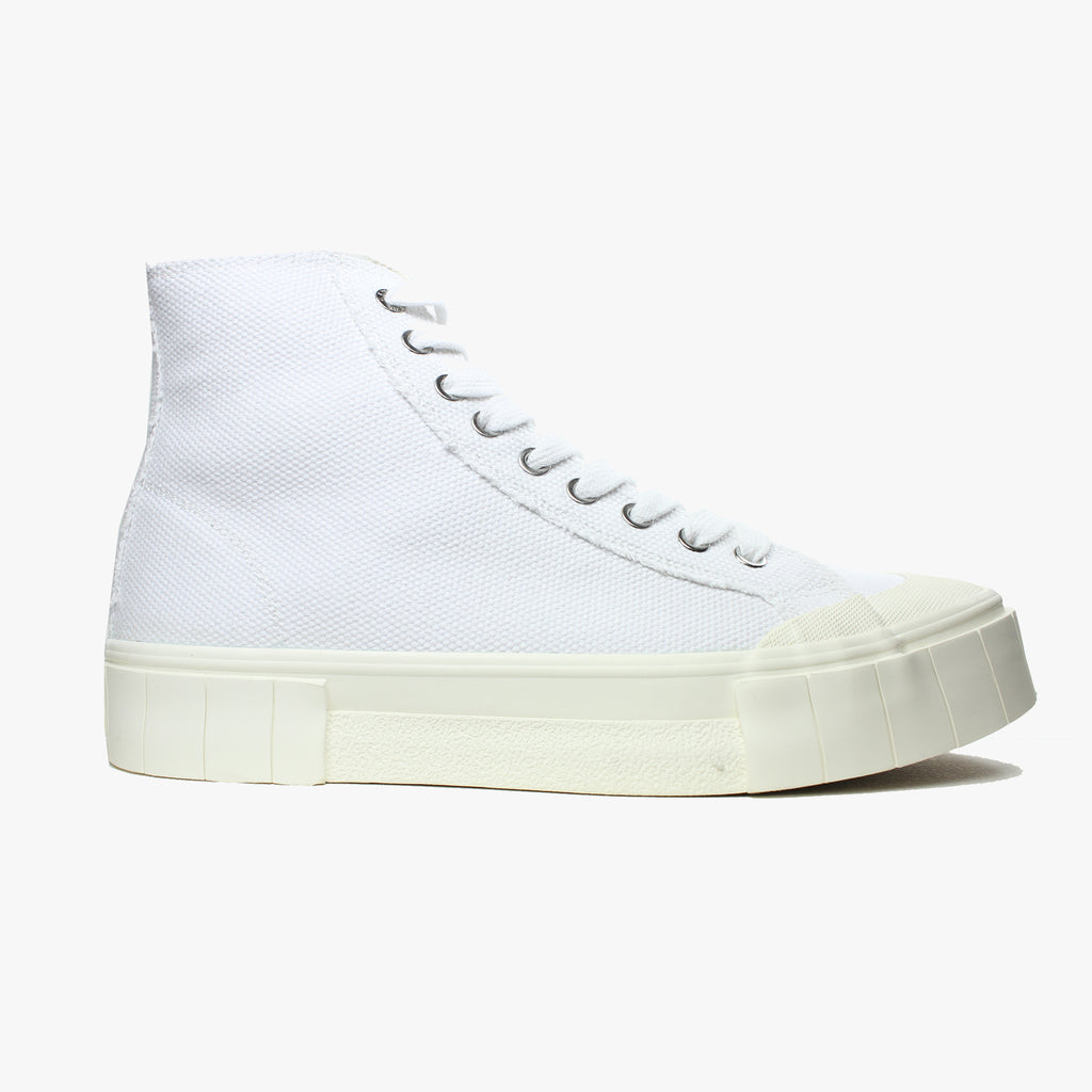 Good News London Sneakers - Juice White High