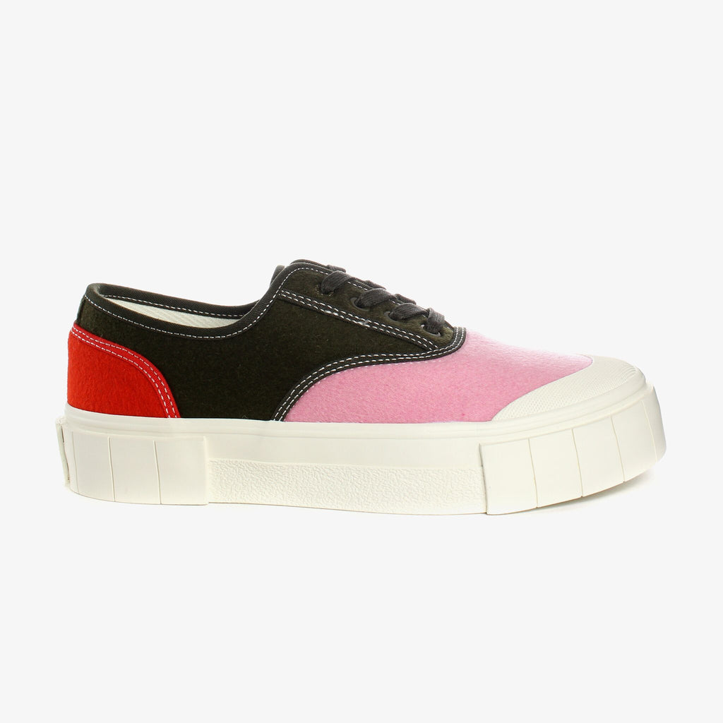Good News London Sneakers - Abe 2 Olive Pink Low