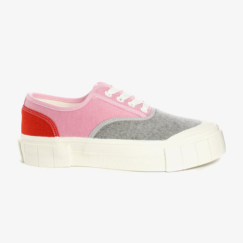 Good News London Sneakers - Abe 2 Pink Grey Low