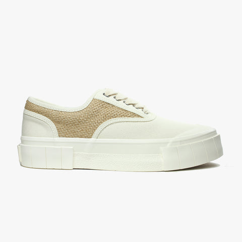 Good News London Sneakers - Softball Weave Canvas Low