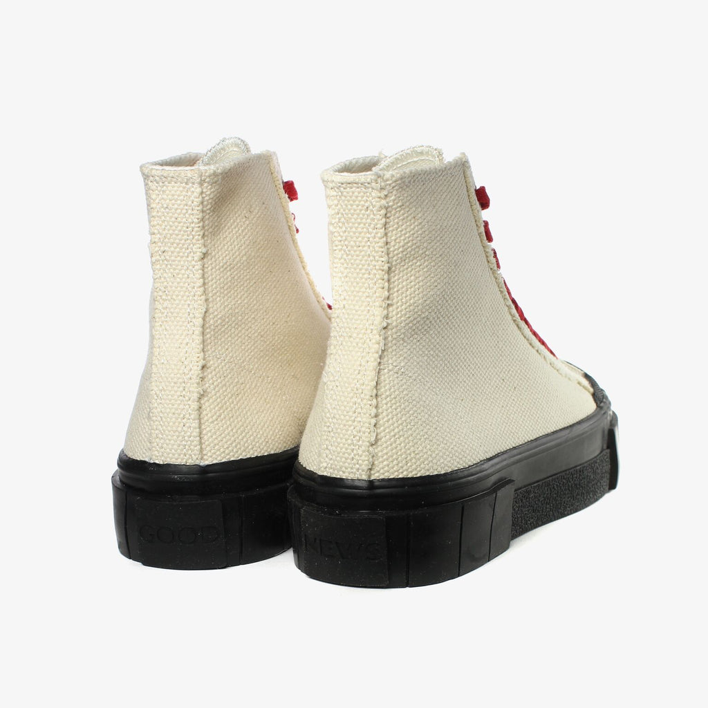Good News London Sneakers - Bagger 2 Beige and Black High