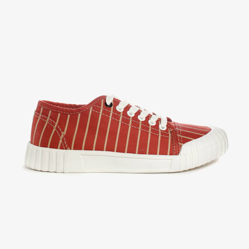 Good News London Sneakers - Hurler Red Brown Low