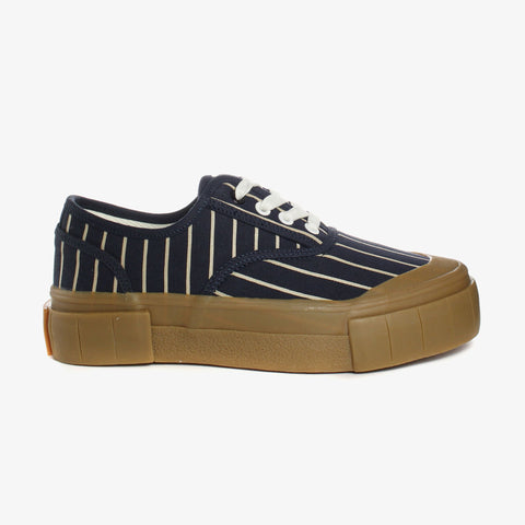 Good News London Sneakers - Hurler 2 Navy Brown Low