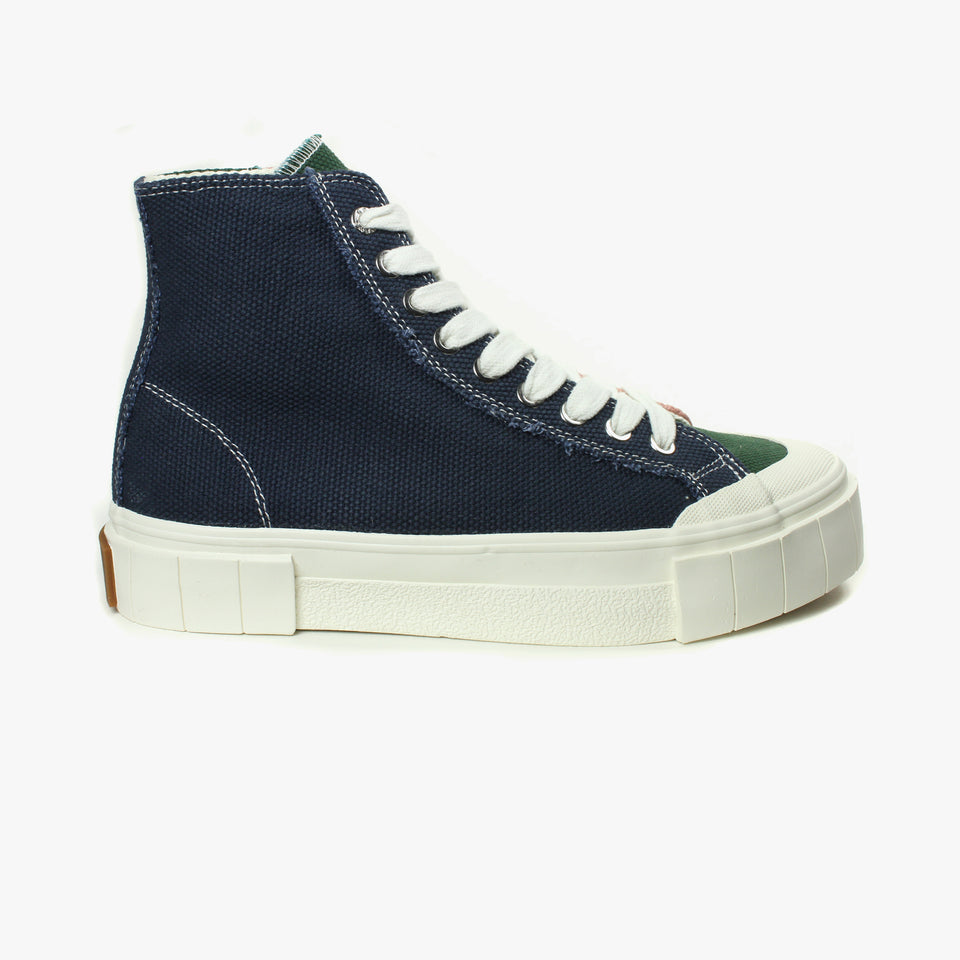 Palm Navy / Green / Pink High