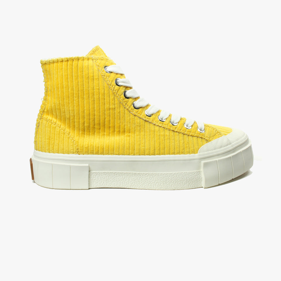Palm Corduroy Yellow High