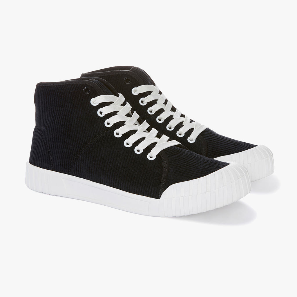 Good News Sneakers - Rhubarb Black High