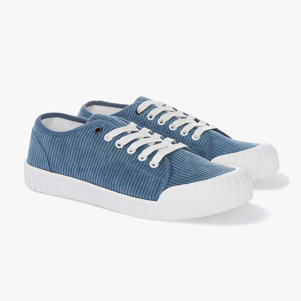 Good News Sneakers - Rhubarb Blue Low