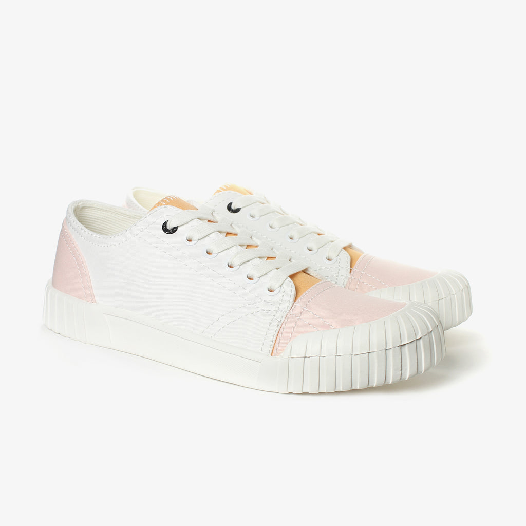 Good News London Sneakers - Abe White Pink Low