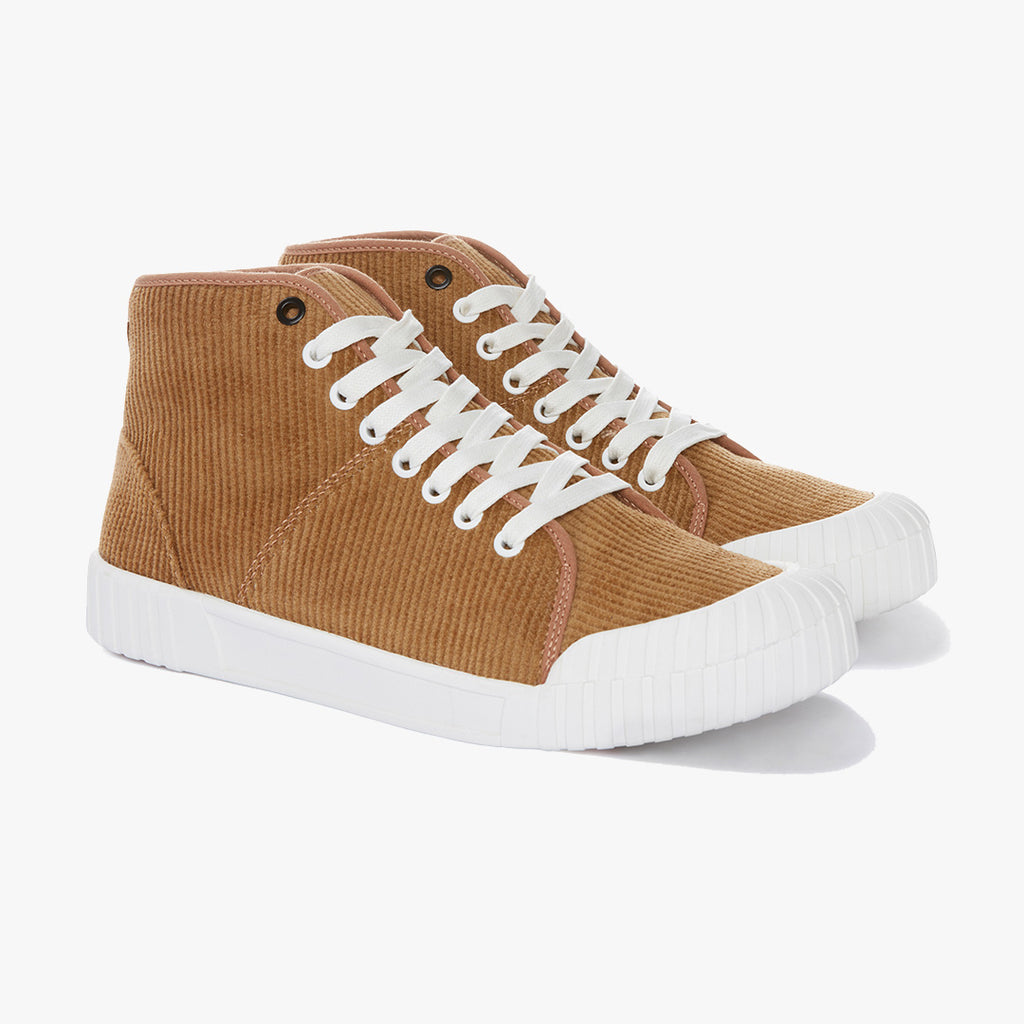 Good News London Sneakers - Rhubarb Tan High