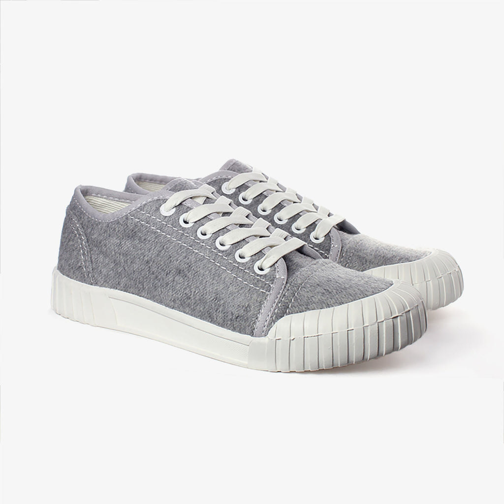 Good News London Sneakers - Softball Grey Low