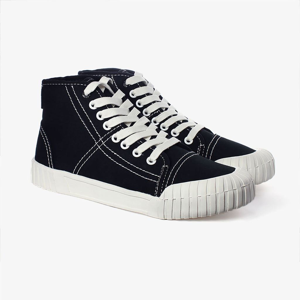 Good News London Sneakers - Slugger Black High