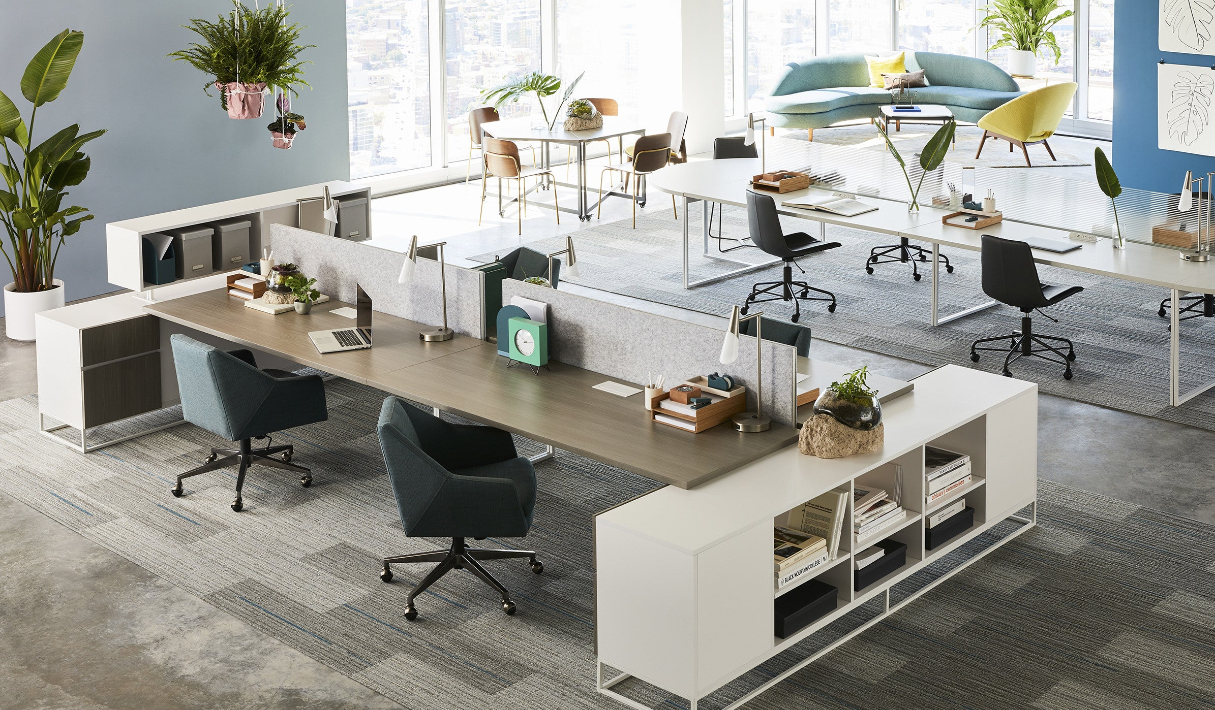The future of office design what s trending west elm for Office design trends articles