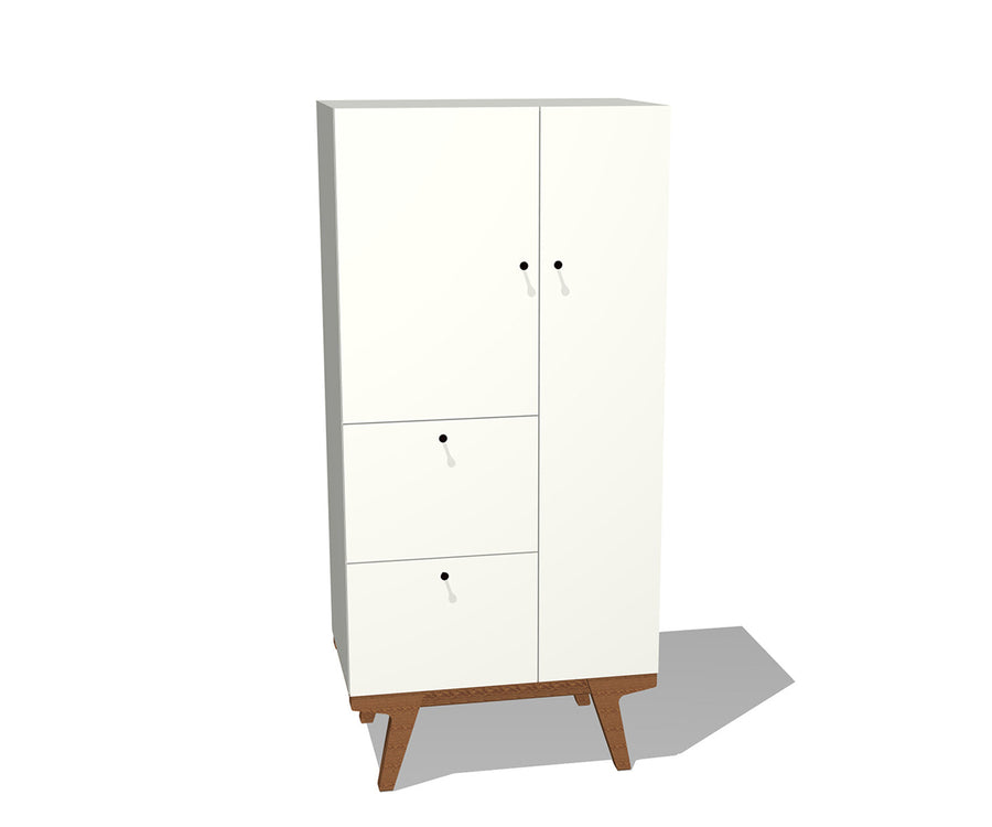 Modern Combination Cabinet